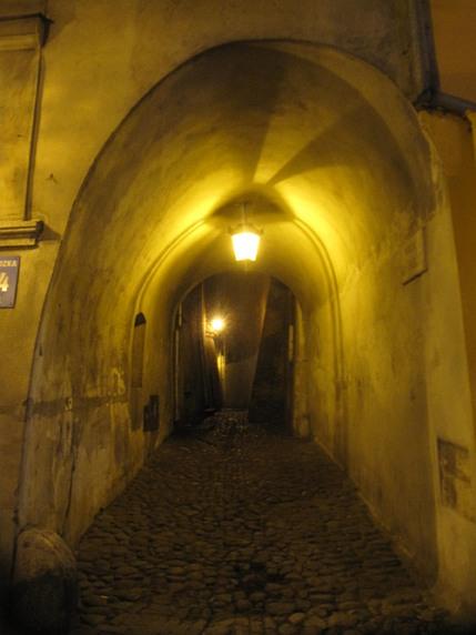 Lublin. Uliczka do Placu Rybnego