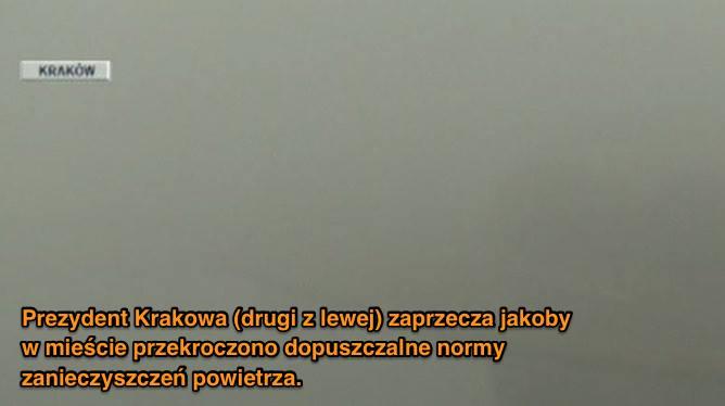Kraków powietrze