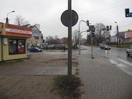 Typowy widok z centrum. Duboisa i Kościuszki
