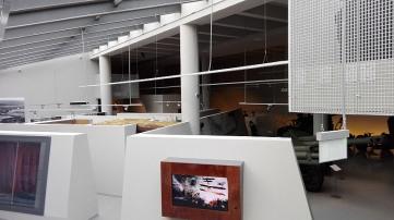 Nowa sala w wałach obronnych