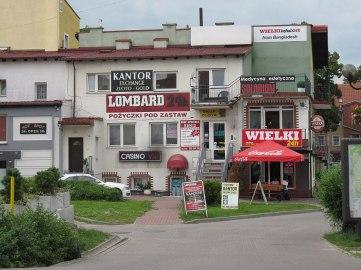 Reklamoza w Mrągowie