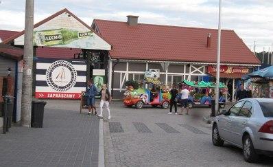 Tandeta turytyczna w Mikołajkach