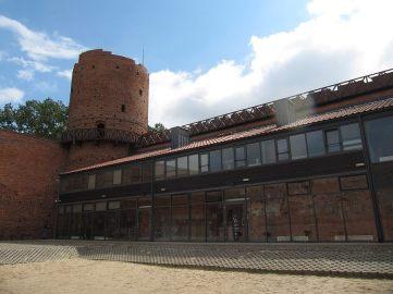 Nowoczesna część zamku mi się podobała