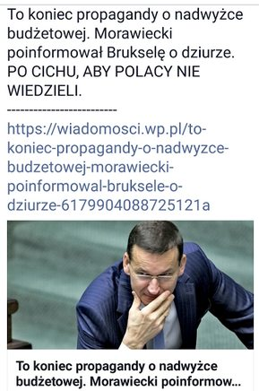 budżet polski morawiecki