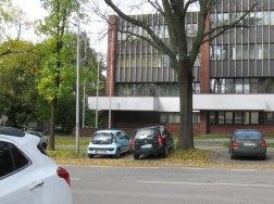 UMCS, auto na trawniki