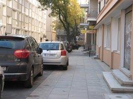 Nowy chodnik na Solnej.