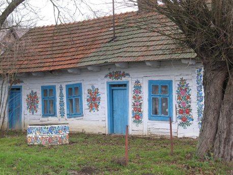 Ta chałupa jest na każdym zdjęciu. Poza tym domem takich starych pięknych domów nie ma.