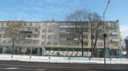 Bloki z czasów sowieckich brzydsze niż u nas.