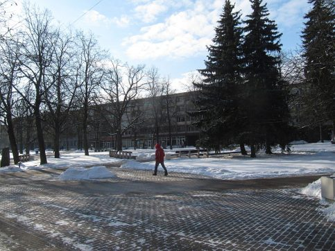 Centralny punkt miasta